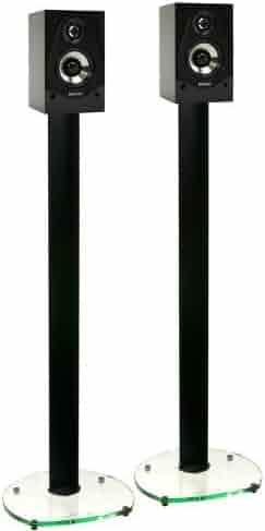 5c427b6e8896c Shopping Glass - Speaker Stands - TV & Media Furniture - Living Room ...