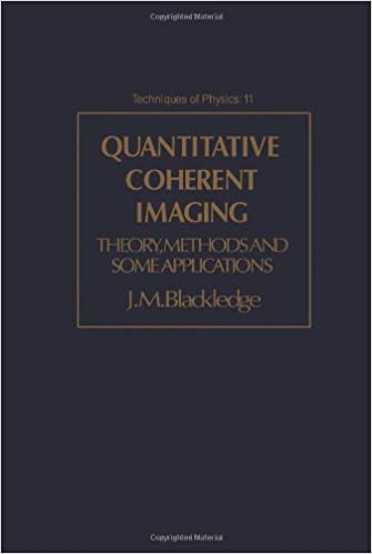 quantitative coherent imaging blackledge j m