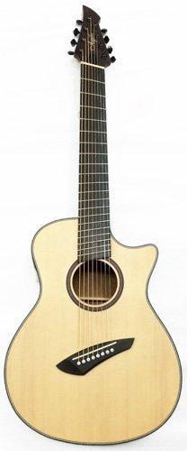 Agile Renaissance 8X NA EQ 8 String Acoustic Multiscale (Guitar Agile)