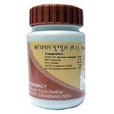 Баба Ramdev -Divya Kanchnar Guggul 60 таблеток