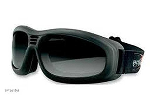 Touring 2 Goggle - Bobster Touring 2 Motorcycle Goggles - Clear