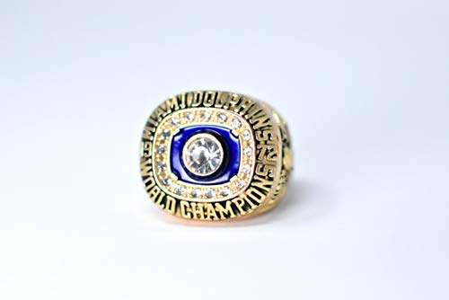 - Jake Scott MVP Miami Dolphins High Quality Replica 1972-73 Super Bowl VII Championship Ring Size 11 Gold Color US SHIPPING