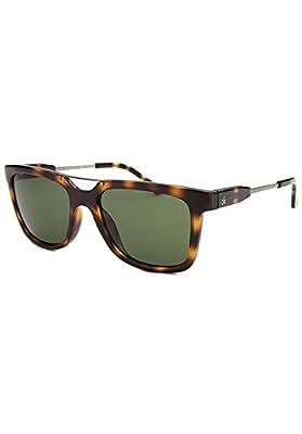 Calvin Klein CK3185S-5418214 Men's Square Havana Sunglasses