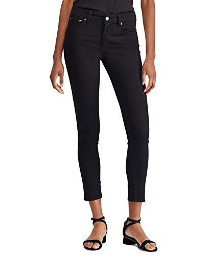 Ralph Lauren Lauren Womens Premier Skinny Crop Jeans Black 4