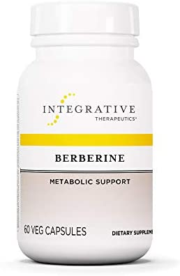 Integrative Therapeutics – Berberine – 500 mg Berberine HCL Supplement for Healthy Blood Sugar and Insulin Metabolism* – Vegan – 60 Capsules