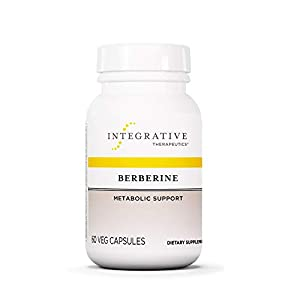Gut Health Shop 31xWEOTn00L._SS300_ Integrative Therapeutics Berberine - Metabolism and Healthy Blood Sugar Support Supplement with HCL - for Men and Women…