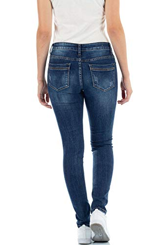 Jeans Femme Skinny Bleu malucas Bleu Bleu 7gUHUqT