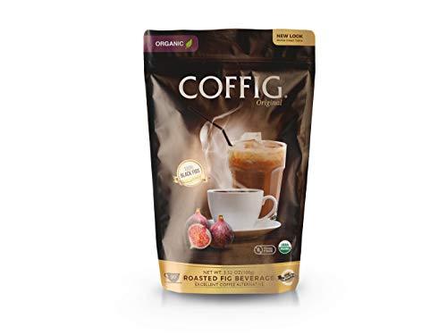 COFFIG Original (ORGANIC Roasted Figs). Caffeine Free, Gluten Free, & Acid Free