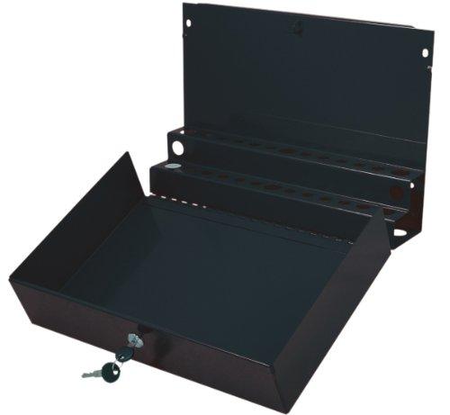 (Sunex 8011BK Large Locking Screwdriver and Pry Bar Holder for Service Cart- Black)
