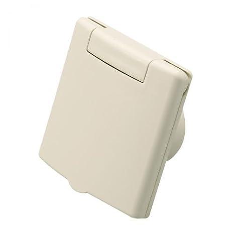 Prese aspiranti quadrato VEX-S beige Plastiflex