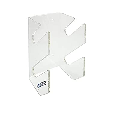DOUBLE board rack wall mount for 2 wakeboards, snowboards, kiteboards, longboards, skateboards, wakeskates and skimboards