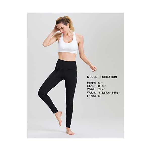 Along Fit High Waist Yoga Pants With Pockets For Women Tummy Control Yoga Leggings For Workout Running 4 Way Stretch