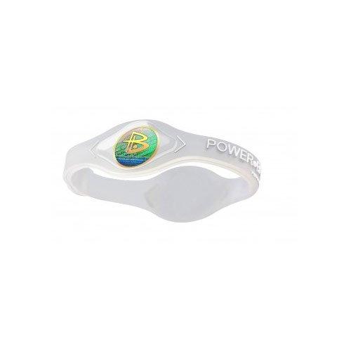 Power Balance Bracelet Silicone Wristband Clear/White Small