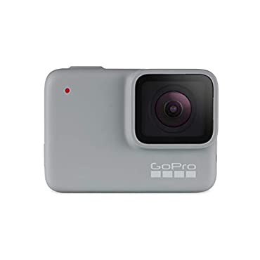 GoPro HERO7 White Waterproof Digital Action Camera with Touch Screen 1440p HD Video 10MP Photos