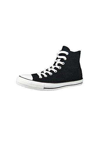 Converse Chuck Taylor All Star Hi Americana Estampado Negro / Blanco / Blanco Talla 8.5 Hombres / 10.5 Mujeres