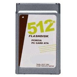 512mb Ata Flash Pc Card - 512MB PCMCIA ATA Flash Card p/n ATA-512MB-MT