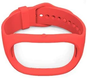 Healbe Red Replacement Bands Compatible for Healbe GoBe2, Newest Adjustable Sport Strap Smartwatch Wellness Fitness Tracker Wristbands