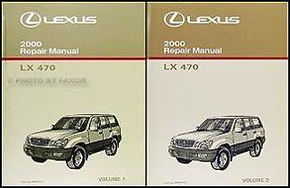 2000 lexus lx 470 repair shop manual original 2 volume set lexus rh amazon com 2009 lexus gx 470 owners manual lexus gx 470 owners manual pdf