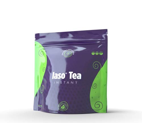 TLC Total Life Changes IASO Natural Detox Instant Herbal Tea (25 Sachets) Packaging may vary between old & new in 2019