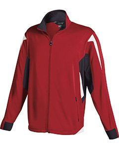 Holloway Youth Dedication Jacket , Scarlet|Black, large  by Holloway
