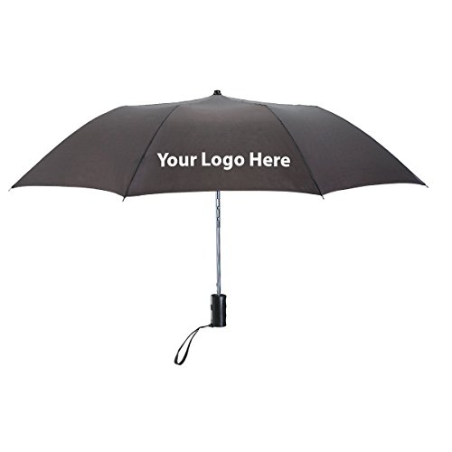 36'' Arc Telescopic Folding Automatic Umbrella - 50 Quantity - $7.45 Each - PROMOTIONAL PRODUCT / BULK / BRANDED with YOUR LOGO / CUSTOMIZED by Sunrise Identity