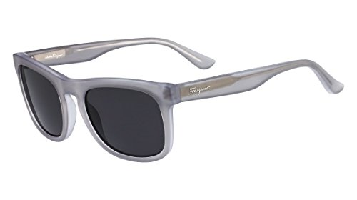 Salvatore Ferragamo Womens UV Protection Square Designer Sunglasses Gray O/S -