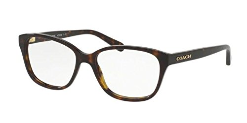 Coach Women's HC6103F Eyeglasses Dark Tortoise - Mens Eyeglasses Coach