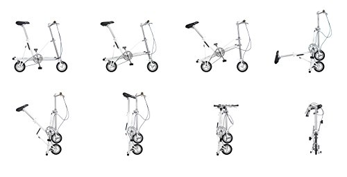 Bicicleta plegable CarryMe DS (Dual Speed) verde: Amazon.es: Deportes y aire libre