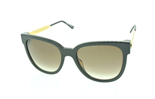 Thierry Lasry Flashy Oversized Sunglasses Composite Frames (Black, Brown - Sunglasses Flashy