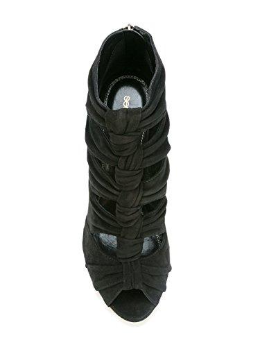 Sergio Chaussures Talons Noir Suède Rossi Femme A76490MCAZ011000 À xnvUrPx