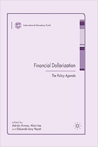 Financial Dollarization: The Policy Agenda (Procyclicality ...