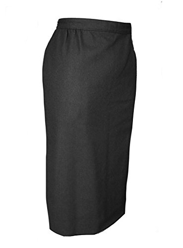 Austin Reed Classics 100% Wool Burton Skirt - Lined (Black, ()