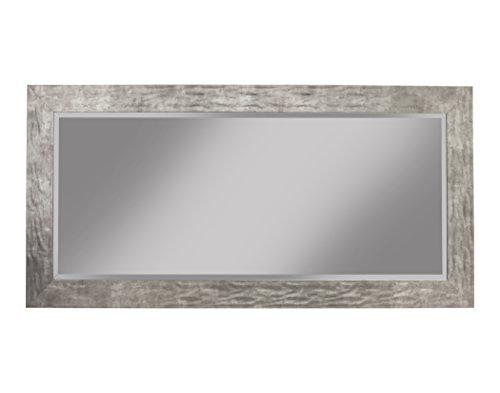 Sandberg Furniture Hammered Leaner Mirror, Full, (Metal Frame Rectangular Mirror)
