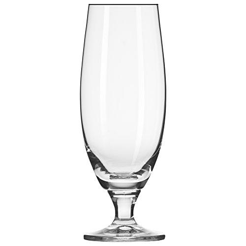 Footed Beer (Household Essentials KROSNO Norm Pilsner Beer Glasses (Set of 6), 16 oz, Clear)