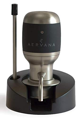 Aervana Original: 1 Touch Luxury Wine Aerator with Display Stand