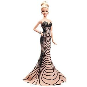 Barbie Collector 2014 - Zuhair Murad Barbie 2014 Collectible Doll BCP91 by Mattel Gold Label