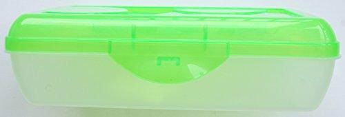 Sterilite Neon Green Pencil Case