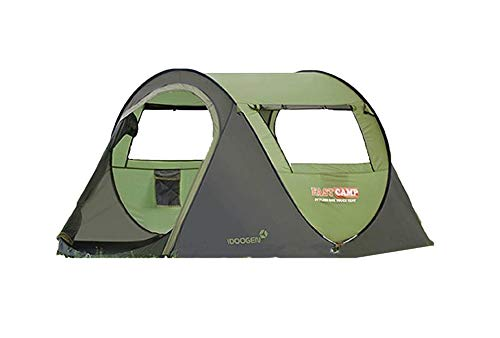 (Fast Camp Basic 3 Large 3 Person Automatic Instant Outdoor Camping Tent Easy Instant)