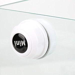 Acuario Cleaner Mini Magnetic Acuario Cepillo de Limpieza para Vidrio portátil Fish Tank Cepillo para Limpieza de Cristales Limpiador 8mm