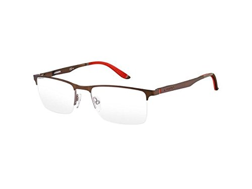 Carrera 8810 Eyeglass Frames CA8810-0A24-5419 - Brown Ruthenium Frame, Lens Diameter 54mm,