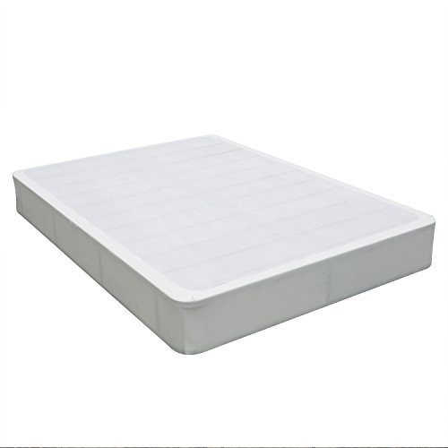 Swascana 9'' Heavy Duty Easy Assembly Steel Mattress Foundation/Box Spring Replacement, Queen by Swascana