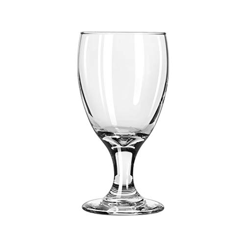 Libbey 3721 Embassy Banquet Goblet, 10.5 oz, M, Clear (Pack of -