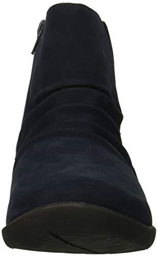 Navy Fashion Boot Rima Clarks Synthetic Women's Sillian nAX0Xaz
