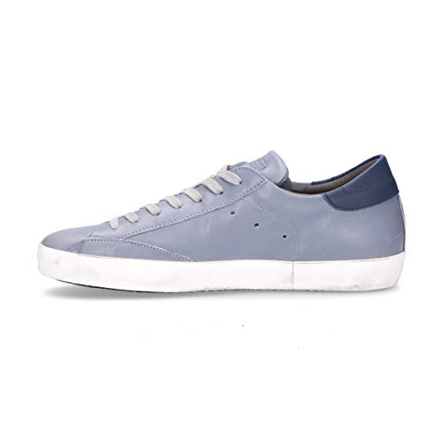 Baskets Clluv068 Model Homme Philippe Gris Cuir q87ZzwXw