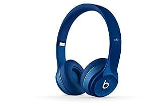 Solo2.0 On Ear Lightweight Headphones Blue Multiple Noise Isolating