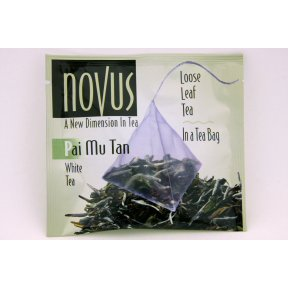 Tan Beverage (Novus Pai Mu Tan White Tea Case Pack 50 - 362601)