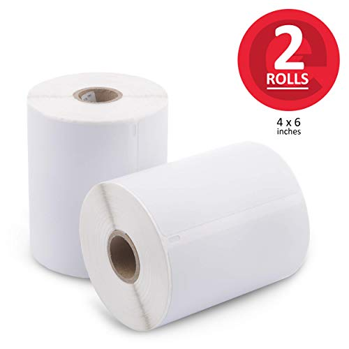 [2 Rolls, 440 Labels] Address & Shipping Labels 1744907 (4 x 6) Compatible for Dymo 4XL LabelWriter