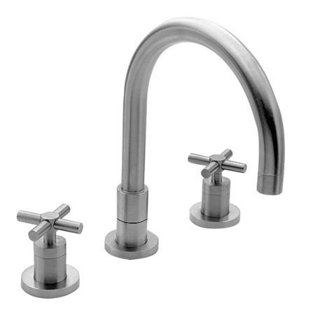 Newport Brass 9901 East Linear Double Handle Widespread Kitchen Faucet with Meta, Oil Rubbed Bronze