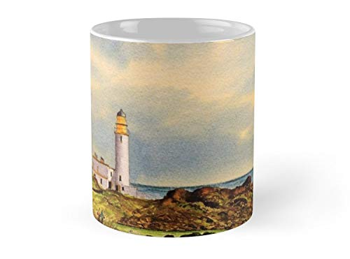 Turnberry Golf Course 9Th Mug - 11oz Mug - Made from Ceramic ()