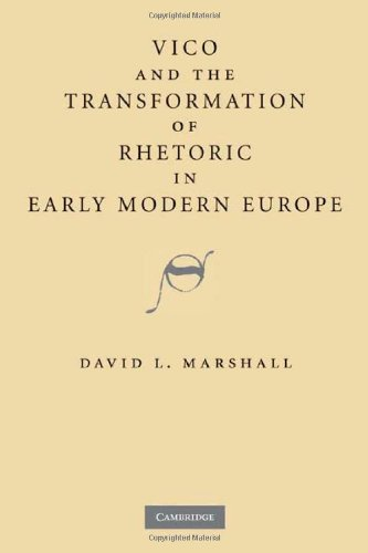 Download Vico and the Transformation of Rhetoric in Early Modern Europe Pdf